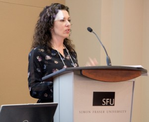 Speaking at SFU - 2015 - 1b