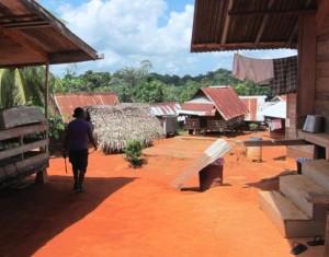 Penpe village, Suriname