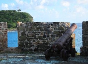 Cannon - Nelson's Dockyard, Antigua