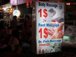 Dr. Fish Massage - Siem Reap