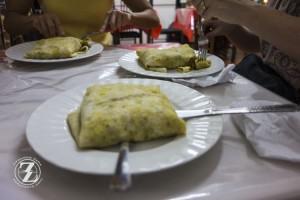Dinner at Roti King - St. John's, Antigua