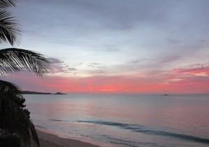 Sunset at Runaway Bay, Antigua 1a