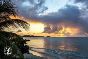Sunset at Runaway Bay, Antigua 1c