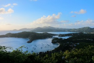 View of English Harbour