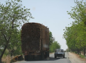 Truck with load - Far North, Cameroon