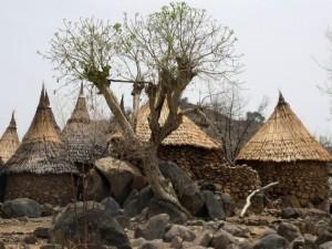 Village of Koza, Far North, Cameroon
