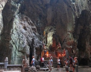 Cave at Marble Mountains